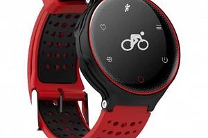 Fitness náramek X2 SMW000014 Barva: Červená...