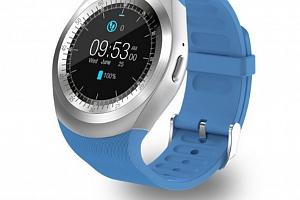 Smart watch MY1 SMW000015 Barva: Modrá...