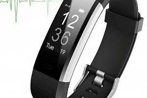 Smartband ID 115 PLUS HR SMW33 Barva: Černá...
