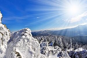 Šumava: Zimní pohoda v penzionu jen kousek od Boubínského pralesa a lyžařských středisek + polopenze...