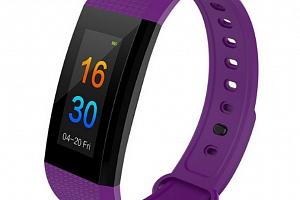 Smart band- fitness náramek I9- 5 barev SMW000019 Barva: Fialová...
