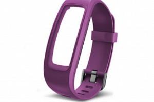 Náhradní řemínek k fitness náramku ID 107 HR plus Barva: Fialová...