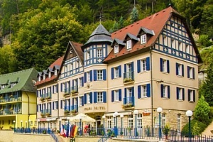 České Švýcarsko v Hotelu Praha **** s polopenzí, degustací vín a pohoštěním...