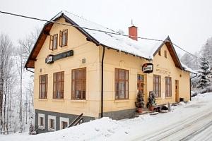 Krkonoše: Penzion Esprit jen 2 km od ski areálu + polopenze a privátní wellness...