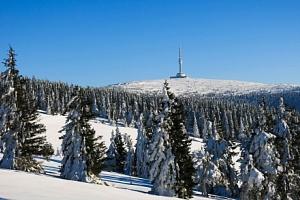 Jeseníky jen 70 m od ski areálu v Penzionu Stonožka s polopenzí a wellness...