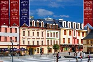 Jeseníky v Hotelu Slovan **** s polopenzí, degustačním menu i wellness...