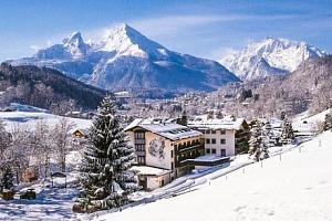 Bavorské Alpy přímo u ski areálu v Alpensporthotelu Seimler *** s polopenzí...