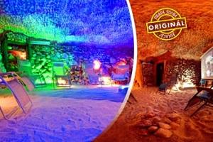 Solná jeskyně na 50 minut: vstupy nebo permanentky...