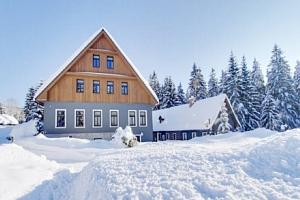 Jizerské hory jen 190 m od ski areálu v Hotelu Perla Jizery *** s polopenzí...