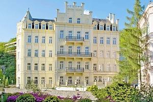 Bohémské Karlovy Vary ve 4* hotelu přímo v centru s neomezenou saunou, procedurami a polopenzí...