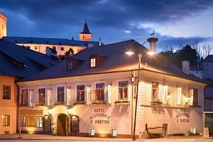 Hotel U Martina u hradu Rožmberk s polopenzí...