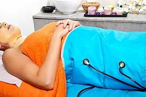 Celotělová přístrojová lymfodrenáž ve Studiu Step, 45min. přístrojová masáž....