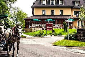 Romantický pobyt v Golf hotelu Morris****, polopenze pro dva s medovo - čokoládovým hýčkáním....
