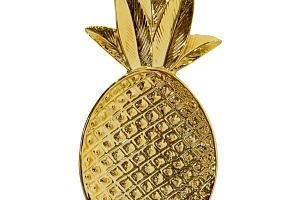 Keramický tácek Pineapple Gold...