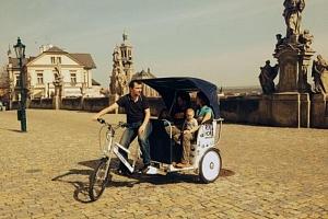 Kutnou Horou na rikše...