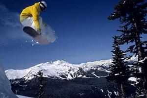 Škola snowboardingu...