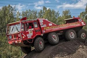 Jízda Tatrou 813 v terénu...