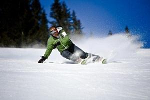 Výuka lyžování...