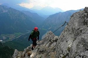 Canyoning, rafting a ferraty v Rakousku...