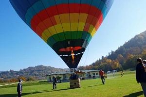 Vyhlídkový let balónem...