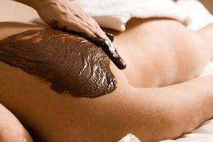 Čokoládová masáž...