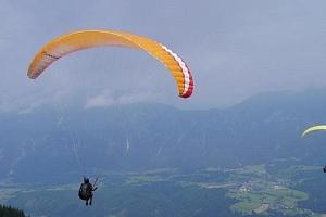 Kurz paraglidingu...