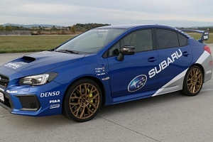 Jízda v supersportu Subaru Impreza WRX STI...