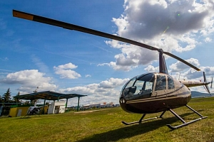 Let vrtulníkem...