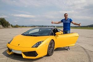 Jízda v Lamborghini Gallardo LP 560 v Čechách...