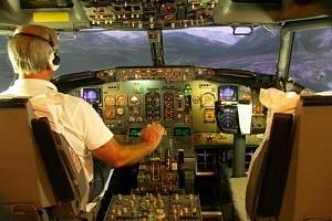 Profesionální letový simulátor...