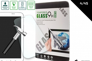Ochranné sklo Iphone 4/4S Tempered Glass 0,3 mm TVSK1...