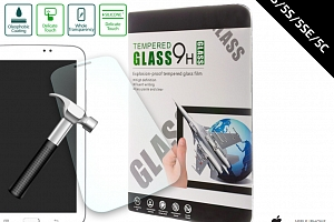 Ochranné sklo Iphone 5/5S/5SE/5C Tempered Glass 0,3 mm TVSK2...