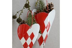Dekorativní závěsný kornout Heart...
