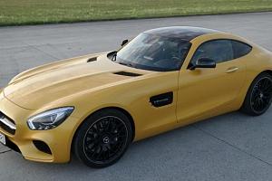 Jízda v Mercedesu AMG GTS V8 Biturbo...