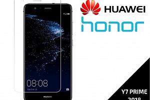 Tvrzené bezpečnostní sklo 9H- bezrámečkové pro Huaweir Y7 Prime 2018 TVSK43...