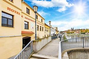 Vysočina v hotelu v Třebíči s neomezeným fitness a polopenzí + varianty se vstupy do památek UNESCO…...