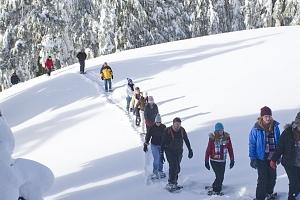 Celodenní dobrodružná výprava na sněžnicích - staňte se na jeden den zimním dobrodruhem!...