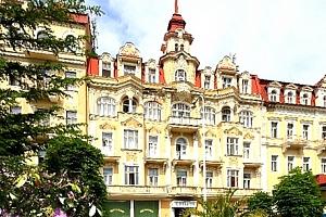 Mariánské Lázně - wellness pobyt pro dva v Hotelu Fontána, s polopenzí a spoustou procedur....