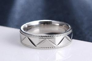 Stříbrný prsten z chirurgické oceli- Kris Kros SR000096 Velikost: 11...