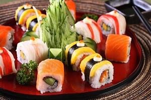 40% sleva na sushi v restauraci Sushi Oishi v centru Prahy...
