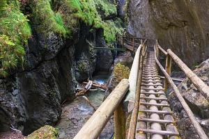 Jarní 1denní výlet do kaňonu Medvědí soutěska v Rakousku...
