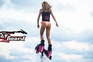 Flyboard - 20min. adrenalinový let nad vodní hladinou...