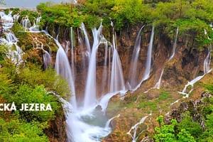 3denní poznávací zájezd k Plitvickým jezerům v Chorvatsku pro 1 osobu...