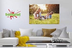 Fotoplátno: vaše fotografie tištěná na plátně na dřevěném rámu...