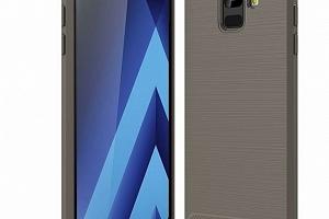 Zadní SLIM kryt pro Samsung A6 PZK14 Barva: Šedá...