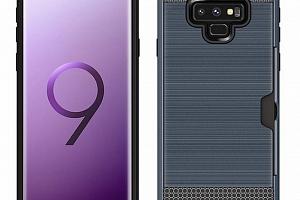 Hybridní odolný obal na Samsung NOTE 9 PZK4 Barva: Modrá...