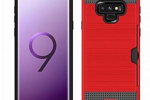 Hybridní odolný obal na Samsung NOTE 9 PZK4 Barva: Červená...