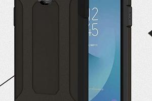 Army extra pevný zadní kryt pro Samsung J3-2017 PZK13 Barva: Černá...