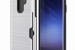Hybridní zadní kryt pro Samsung S9+ PZK5 Barva: Bílá...