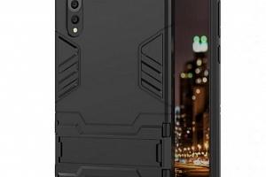 Army pevný zadní kryt se stojánkem pro Huawei P20 PZK24 Barva: Černá...